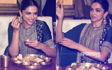 Overjoyed Deepika Padukone Binges On Delicious Rajasthani Food To Celebrate Padmaavat Success