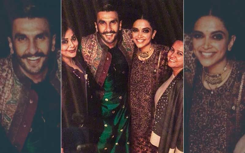 Deepika Padukone's Chooda Ceremony: Couple Looks Radiant In Colour-Coordinated Sabyasachi Outfits