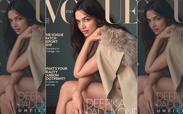 "Deepika Padukone Goes Au Naturel, Looks Sexy In This ""Barefaced And Unfiltered"" Cover Photo"