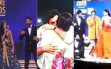Zee Cine Awards 2019 Inside Videos: Deepika-Ranveer Take Pheras On Stage; Vicky-Katrina's 'Josh' Moment, Ranbir-Ranveer's Long Hug!