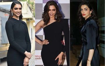 Deepika Padukone Dons Black Colour 3 Times In A Row Showing Us Vivid Ways To Rock The Dark Shade