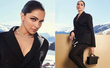 Deepika Padukone's All Black, Captivating Look From Davos Deserves A Bold Round Of Applause