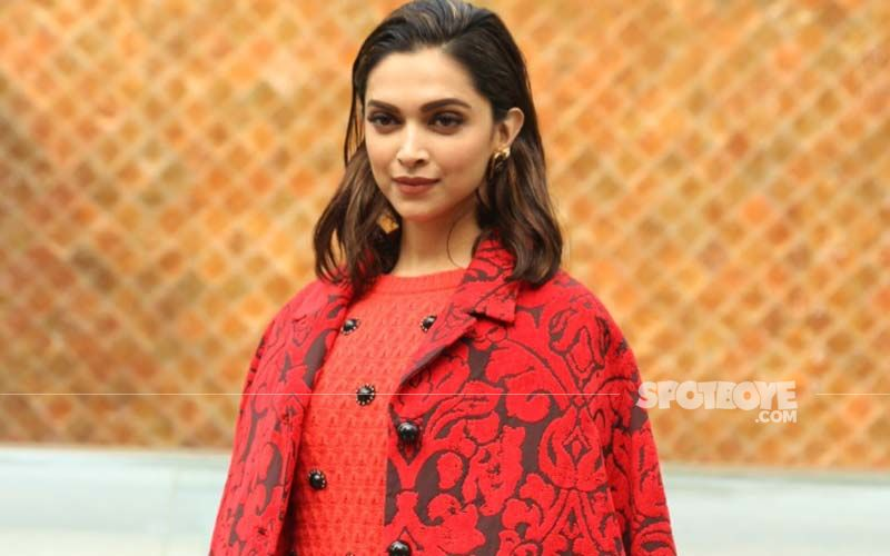 Red Hot! Deepika Padukone Steps Out For Lunch With Family Looking Sizzling Hot Clad In A Chanel Top And Balenciaga Pants