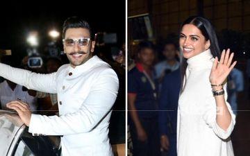 दीपिका पादुकोण - रणवीर सिंह की शादी: इटली के लिए रवाना हुआ कपल, देर रात एअरपोर्ट पर लगी भारी भीड़