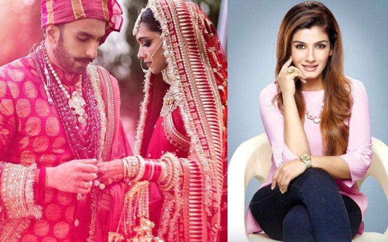 DeepVeer की शादी के बाद रवीना टंडन ने खोला दीपिका पादुकोण का सीक्रेट, क्या रणवीर सिंह जानते हैं ये बात?
