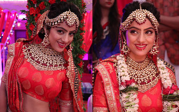 Deepika Singh Aka Sandhya's Bridal Look For Kavach 2 Will Win Your Heart