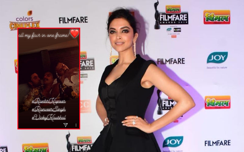 "64TH Filmfare Awards 2019: Deepika Padukone's ""Favourite"" Men In One Frame"