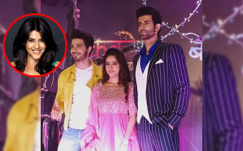 Deepika Singh's TV Comeback Kavach 2 Launched With Fanfare; Ekta Kapoor Punctuates Despite Frozen Shoulder