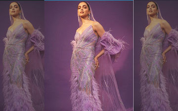Deepika Padukone At IIFA Awards 2019: Mrs Singh Makes A Dramatic Purple Entry At The Green Carpet