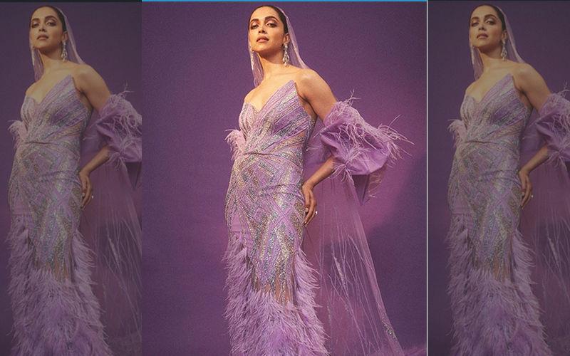 Deepika Padukone At IIFA Awards 2019: Mrs Singh Makes A Dramatic Purple Entry At The Green Carpet