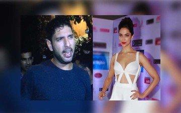 Yuvraj Hits A Six At Deepika's Party