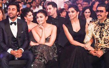 Ranbir Kapoor With GF Alia Bhatt And Her Sis Shaheen Grace Deepika Padukone's Birthday Bash Hosted By Ranveer Singh- VIDEO