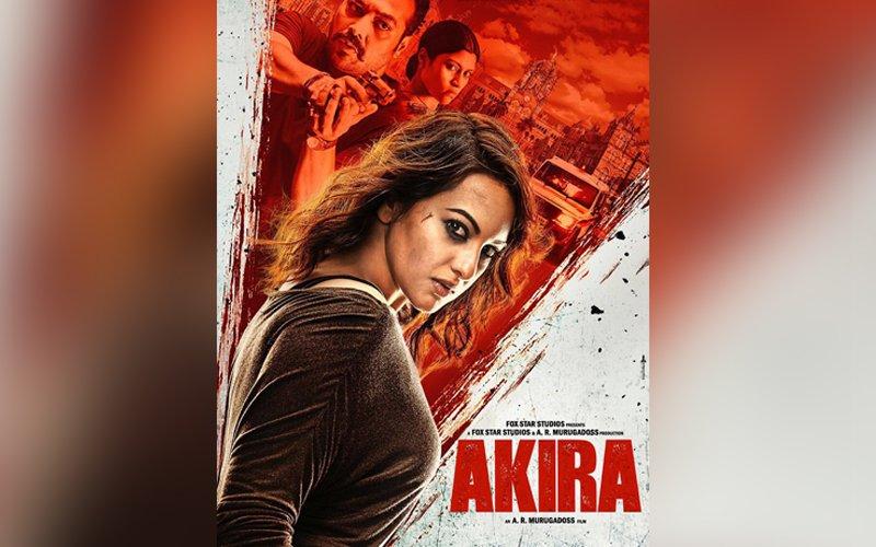 Sonakshi Sinha looks fiery as Akira