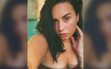 Demi Lovato's Sexy Pool Photo Will Leave You Sweating; Even Her Beau Max Ehrich Can't Handle The Oomph