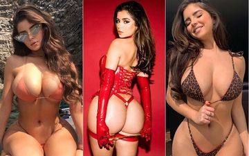 Demi Rose's Eye-Popping Pics: From Micro Bikinis To Going Fully Nude, The Seductress Leaves Little To The Imagination