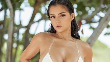 Bikini Babe Demi Rose Gives A Peek Into Her Hourglass Figure By Leaning Against The Door; All We Can Say Is WHOA