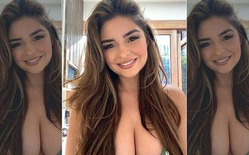 Demi Rose Flaunts Her Peachy Posterior In A Skimpy Bikini; Reveals The Man Behind Her Alluring Photographs