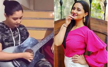 Bigg Boss 13 Rashami Desai On Mission To Learn Guitar During Lockdown; 'Trying To Find Happiness In Moments Like These' - WATCH