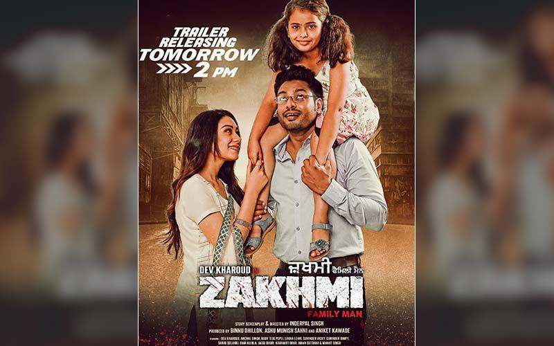 Dev Kharoud, Anchal Singh Starrer Zakhmi Trailer To Release On This Date
