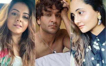 Bigg Boss 14: Devoleena Bhattacharjee Reminds Vikas Gupta That He Was Playing Against Rashami Desai In The Last Season, Actress Likes The Video