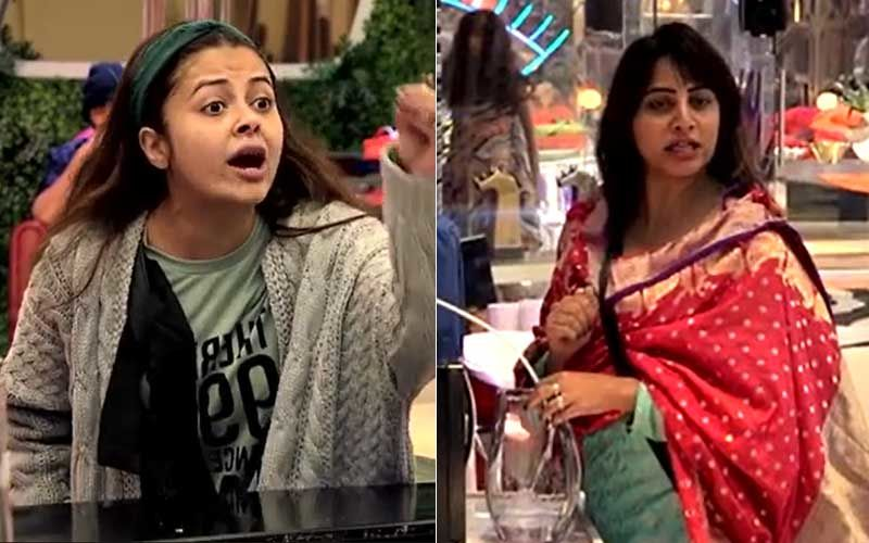 Bigg Boss 14: Huge Fight Erupts Between Devoleena Bhattacharjee And Arshi Khan; Devo Shows Her Middle Finger, Leaving Arshi Shocked