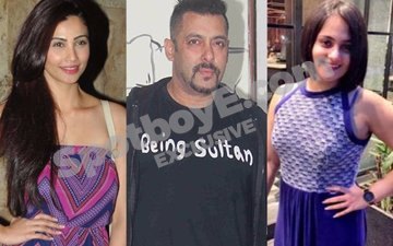 Salman watches Daisy's play with sister Shweta and then dines with them in his Galaxy home!