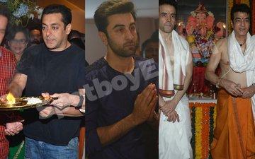 IN PICS: Salman, Ranbir, Jeetendra Celebrate Ganesh Chaturthi