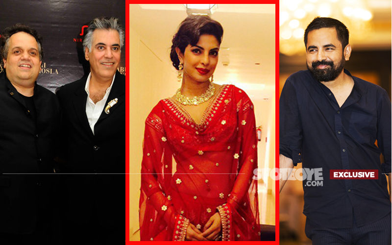 After Abu Jani-Sandeep Khosla, Now Sabyasachi Will Also Doll Up Priyanka Chopra's Bridal Look
