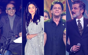 UMANG 2018: WATCH Akshay & Alia Sing, SRK- Anil Belt Out Their Famous Dialogues