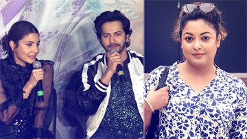 "Varun Dhawan On Tanushree-Nana Patekar Controversy: ""It Happened In 2008"". Anushka Corrects, ""It Can Happen Anytime"""