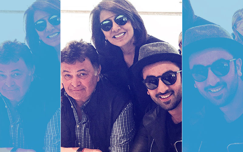 5 Adorable Pics Of Rishi Kapoor With Neetu Singh Kapoor And Ranbir Kapoor