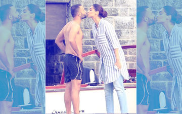 Sonam Kapoor Plants A Kiss On Anand Ahuja's Lips – Viral Pic Alert!