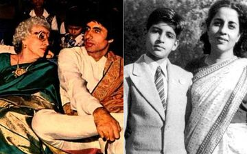 Mother's Day 2020: Amitabh Bachchan Shares Rare Pics With MomTeji Bachchan: 'Her Embrace Never Got Replicated In An Entire Lifetime'