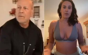 Bruce Willis Accidentally Crashes Daughter Rumer's Video In Her Underwear Talking About Body Image-WATCH