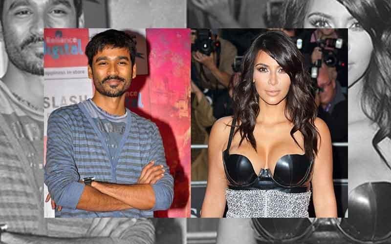 Is Dhanush Imagining A Kim Kardashian Movie?