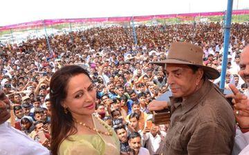 सन्नी देओल और हेमा मालिनी की जीत लगभग पक्की, धरम पाजी ने कहा- अच्छे दिन यकीनन आ गए
