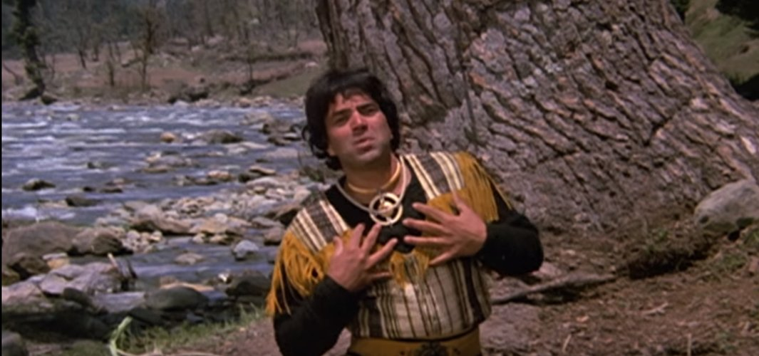 dharmendra in the song still