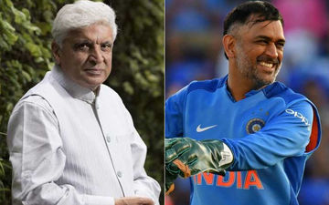 Post India's Exit From World Cup 2019, Javed Akhtar Gives A Reason Why MS Dhoni Shouldn't Retire