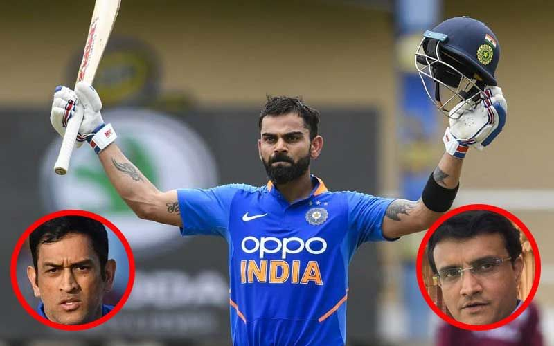 Virat Kohli Breaks MS Dhoni, Sourav Ganguly And Ricky Pointing's Records; Hits 42nd ODI Century In Trinidad