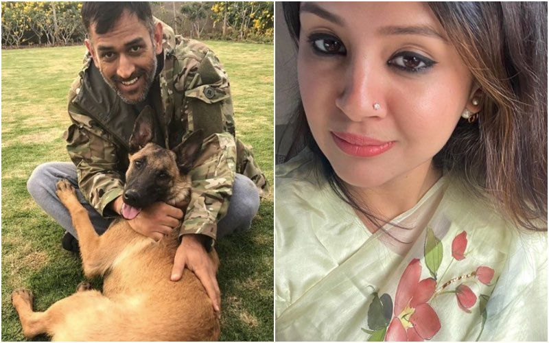 Ahead Of IPL 2020 MS Dhoni Seems To Be Missing His Furry Friends After Wife Sakshi Singh Shares An Adorable Post On International Dog Day