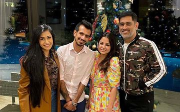 MS Dhoni- Sakshi Dhoni Invite Yuzvendra Chahal - Dhanashree Verma For Dinner In Dubai; Newlyweds Thank Dhoni: 'Felt Like Home'