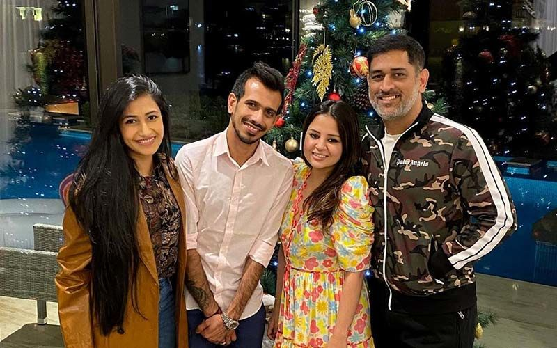 MS Dhoni- Sakshi Dhoni Invite Yuzvendra Chahal - Dhanashree Verma For Dinner In Dubai; Newlyweds Thank Dhoni: 'Felt Like Home'