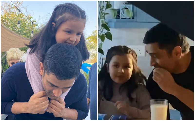 Ziva Dhoni Treats Fans To Some Adorable BTS Glimpses From Her First-Ever Ad With Dad MS Dhoni; It's Sure To Make You Go Aww - VIDEO