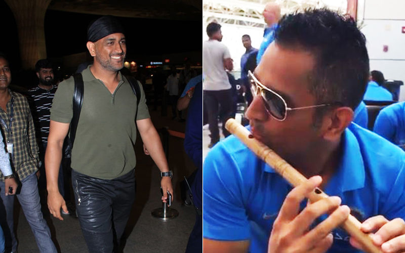 MS Dhoni Plays The Flute In A Viral Throwback Video; Fans Compare Him To Lord Krishna On Janmashtami