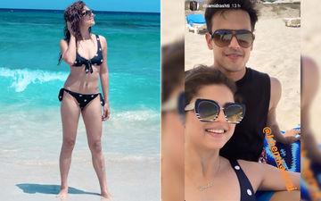Drashti Dhami Looks Sweltering In A Bikini While On A Holiday With Hubby Neeraj Khemka