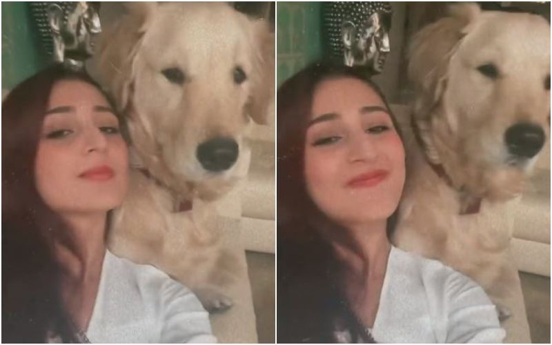 Nayan Hitmaker Dhvani Bhanushali Gets Cuddly With Her Pawdorable Buddy Libo; We Bet You Will Go 'Aww' - VIDEO