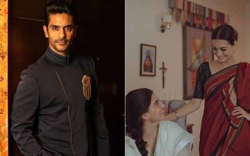 Thappad: Angad Bedi Misses Screening Of Taapsee Pannu, Dia Mirza Starrer; You Wouldn't Believe Dia's Reaction To It