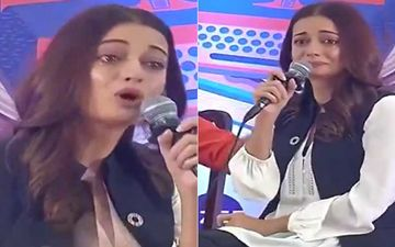 Dia Mirza Breaks Down at JLF While Talking About Climate Change; Netizens Troll Her Mercilessly