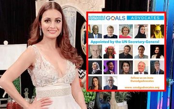 Dia Mirza Joins Hands With The UN Again, Comes On Board As An Official SDG Advocate