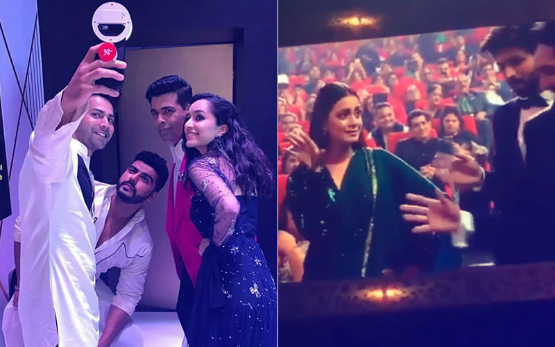 IIFA Rocks 2018 Inside Videos: Arjun-Varun-Shraddha's Taarefan Move & Dia's Tip Tip Barsa Paani Dance Break The Internet